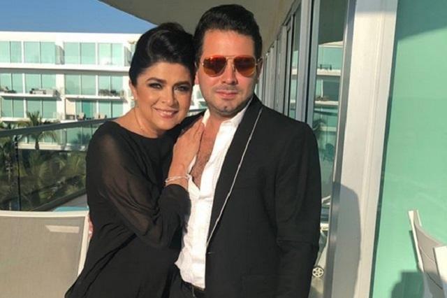 Victoria Ruffo dará a su hijo su versión de su relación con Eugenio Derbez