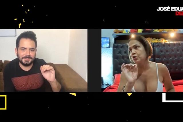 Niurka habla de su vida sexual y el tequila a José Eduardo Derbez