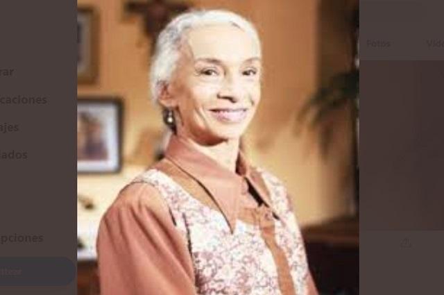 Confirman muerte de Josefina Echánove, primera actriz mexicana