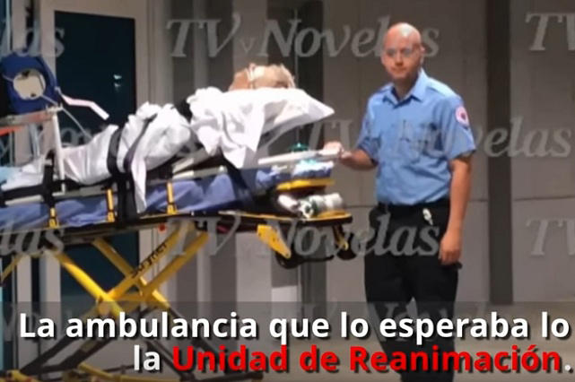 Difunden video de cómo llegó José José a hospital de Miami en ambulancia