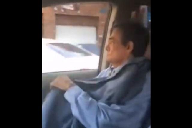 VIDEO: Conductor de Uber llevó a José José a chequeo y esto hizo
