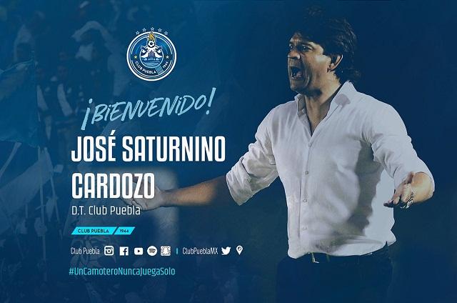 José Saturnino Cardozo es el nuevo director técnico del Puebla FC