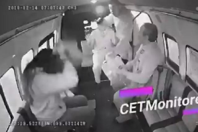 Joven suplica a asaltante no robarle su mochila porque tenía examen