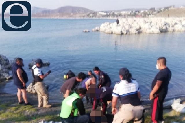 Joven y niño mueren ahogados en la laguna de Alchichica