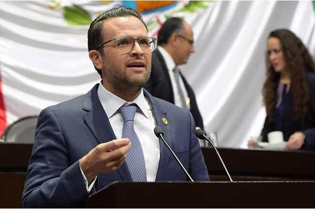 Juan Pablo Piña agradece el apoyo de las fuerzas armadas