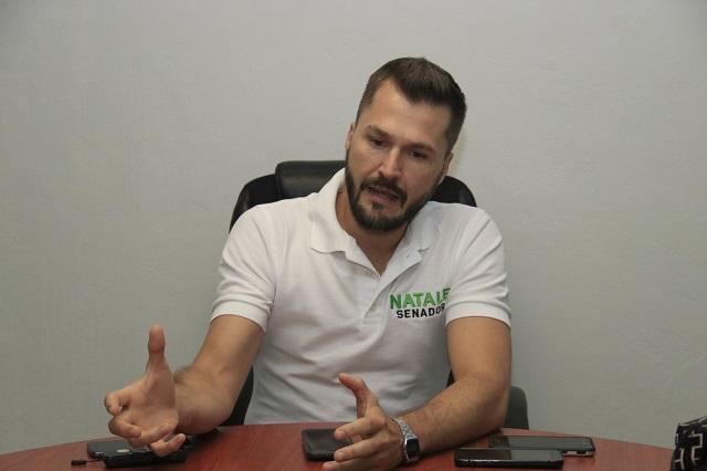 El fuero fomenta la corrupción en México, dice Juan Carlos Natale