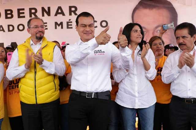 Juan Zepeda se descarta para dirigir PRD; buscará senaduría