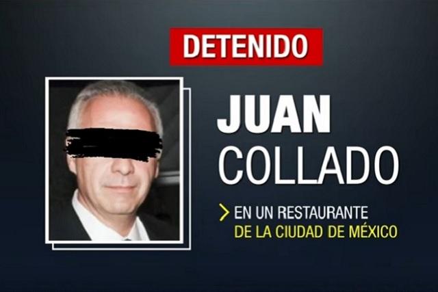 Presentan ante el juez de control al abogado Juan Collado