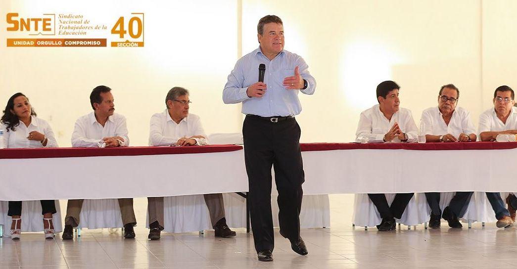 Díaz de la Torre dice que el SNTE ya no será patrimonio de líderes