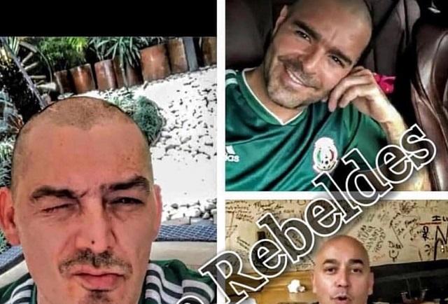 José Manuel Figueroa y Pablo Montero pierden su cabellera tras victoria del Tri