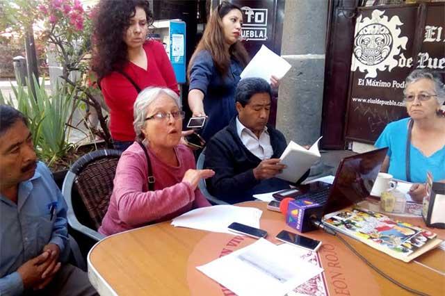 Jubilados BUAP denuncian mal servicio en HU y su privatización