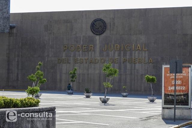 Fracasa en Puebla protesta de jueces contra Ley de Remuneraciones