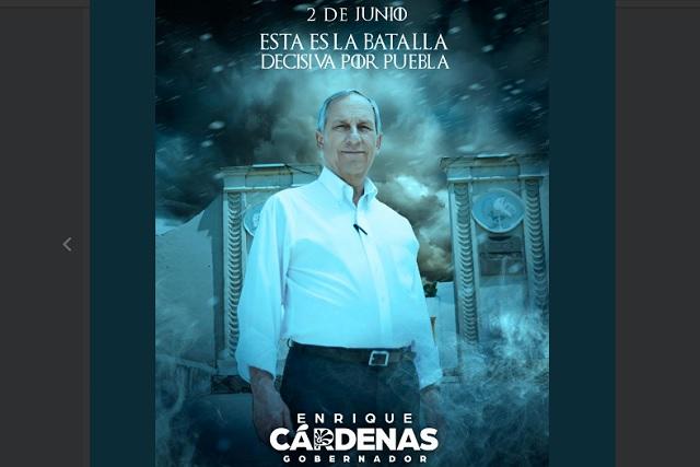 Game of Thrones inspira publicidad para Enrique Cárdenas