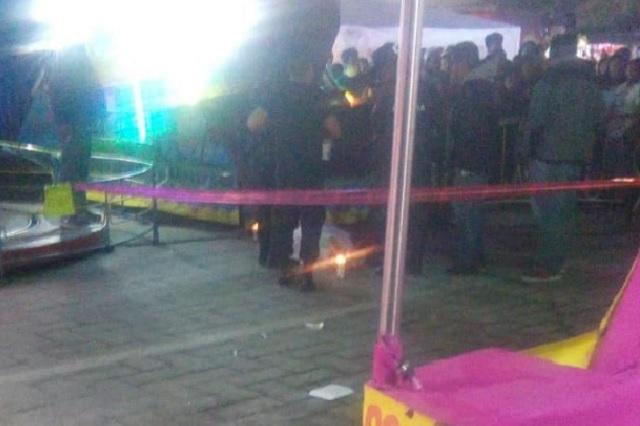 Matan a la dueña de las atracciones Show Vega en Amozoc