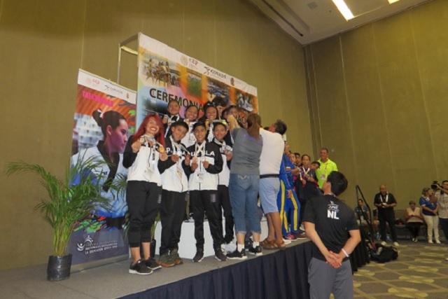 Puebla obtiene ocho medallas en Juegos Deportivos Nacionales Escolares 2019