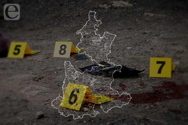 Jueves de levantones, feminicidio y embolsado en Puebla