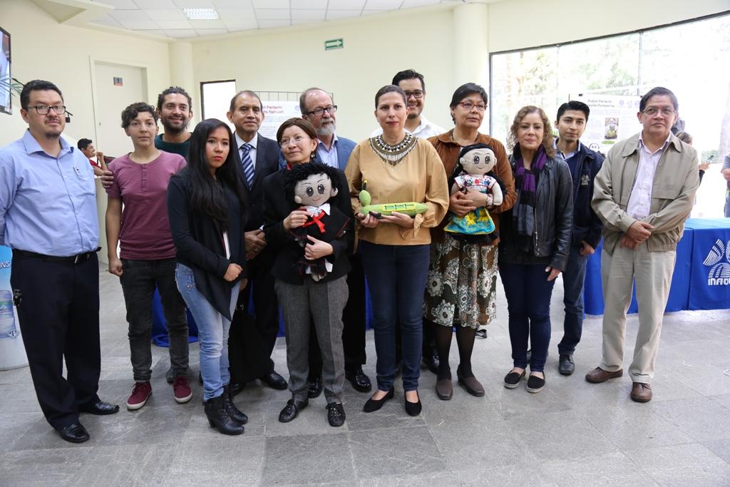 Presentan juguetes y tangibles para aprendizaje de lenguas indígenas