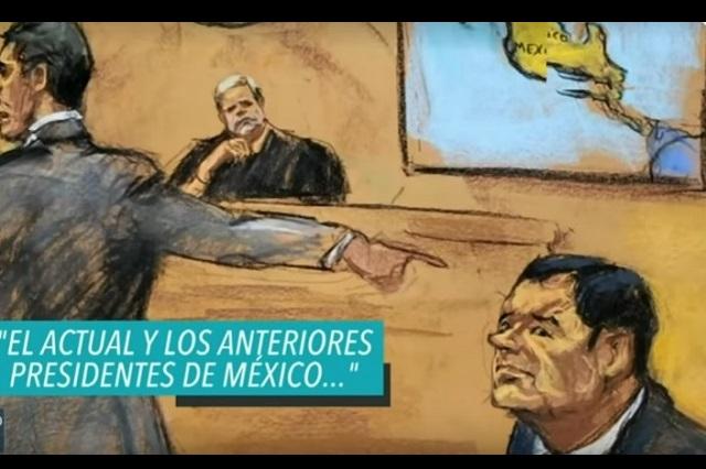 Abogados alistan estrategia para exigir que se anule el juicio de El Chapo