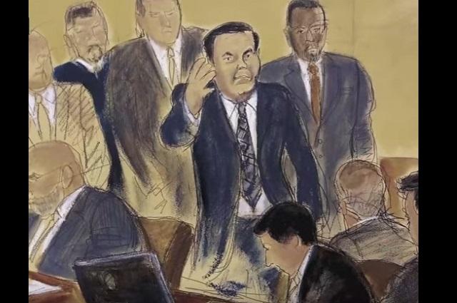 Difunden que El Chapo fue condenado a cadena perpetua