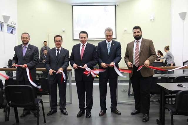 UPAEP inaugura Sala de Juicios orales penales