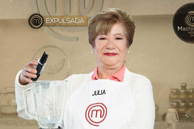 Julia se va de MasterChef México y Pablo ¿se harta de los chefs?