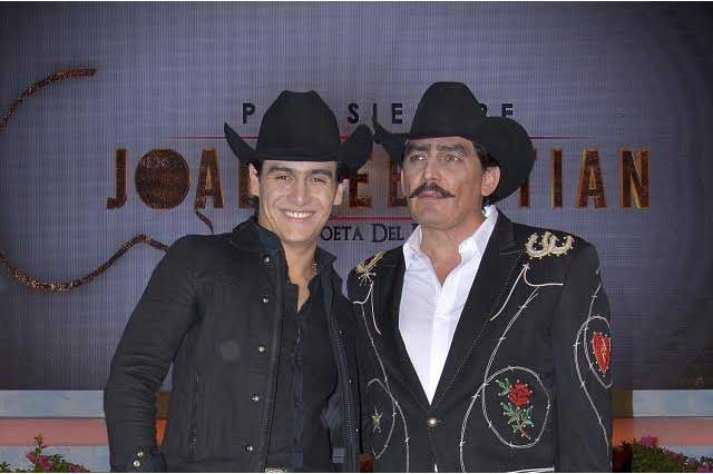 Julián Figueroa no puede usar temas que grabó con Joan Sebastian