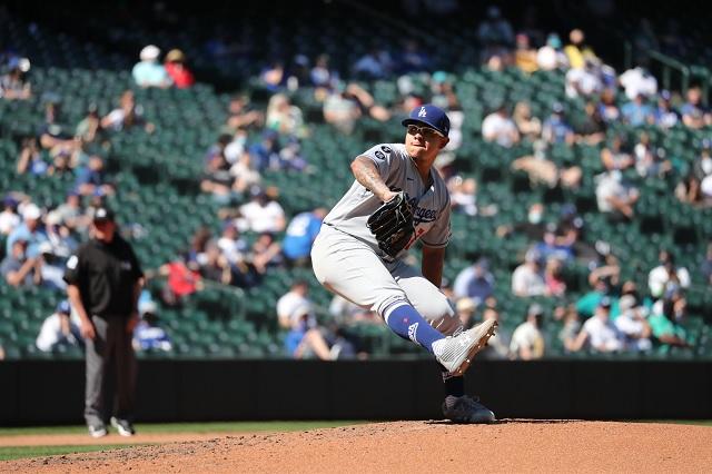 Soberbia actuación de Julio Urías le otorga su tercera victoria con Dodgers