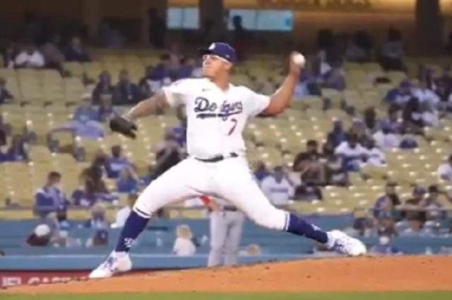 Consigue Julio Urías su segunda victoria de temporada con los Dodgers