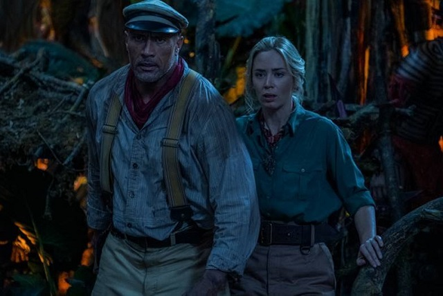 Emily Blunt y Dwayne Johnson presentan avance de Jungle Cruise