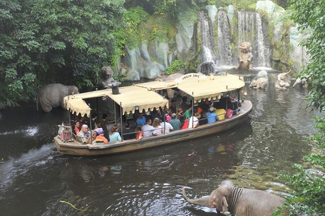 Atracción icónica inspiró la película Jungle Cruise