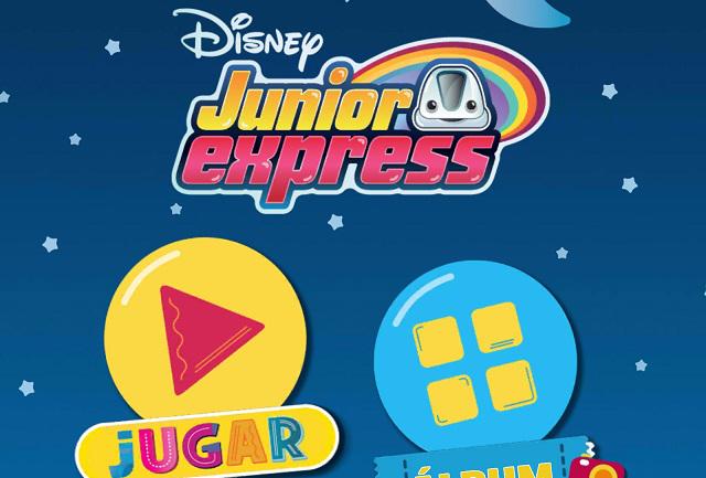 Disney lanza App del Junior Express para que aprendas y te diviertas