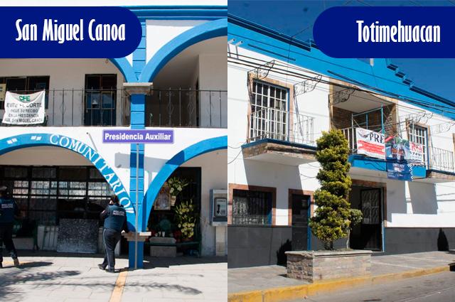 Descartan 15 nuevos municipios; solo van Canoa y Totimehuacán
