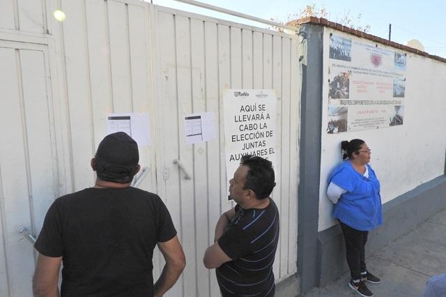 Quitan a ayuntamiento de Puebla control de elección en Zaragoza