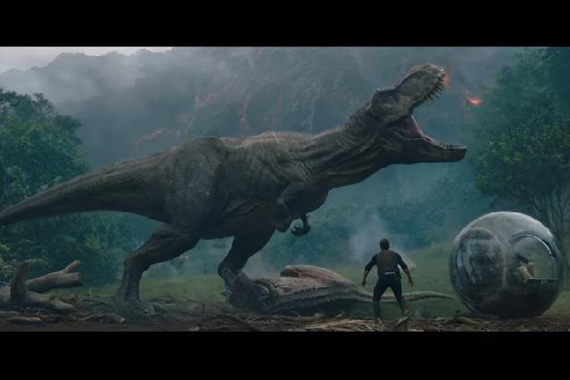 Estrenan tráiler de Jurassic World: Fallen Kingdom y en YouTube dicen Épico