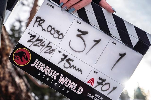 Foto / Instagram Jurassic World 3