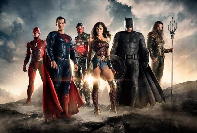 Difunden el primer tráiler de Justice League