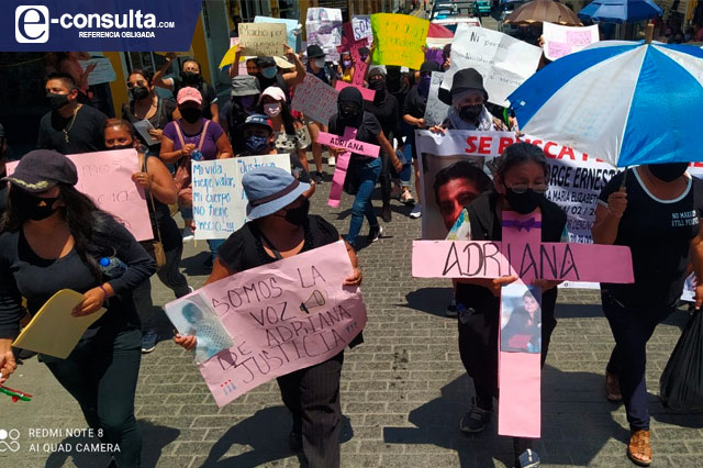 Exigen justicia por feminicidio de Adriana en Xicotepec