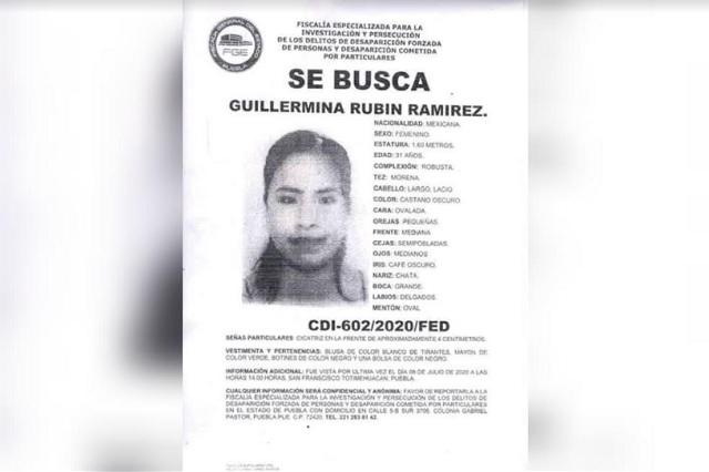 Lanzan #JusticiaParaGuille por asesinato de Guillermina en Puebla
