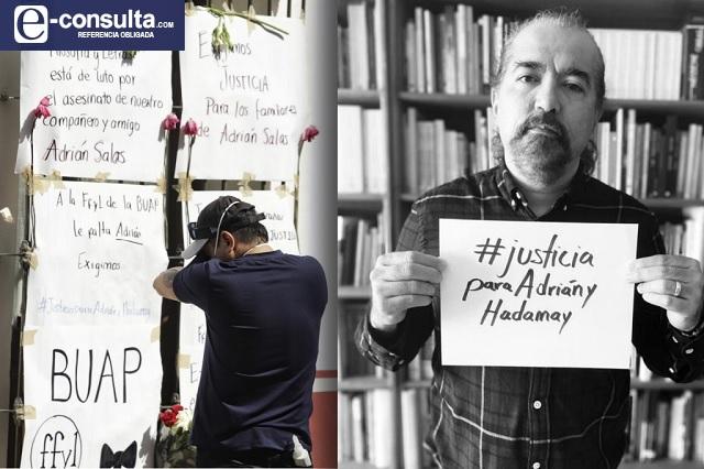 Comunidad Filosofía y Letras exige justicia para Adrían y Hadamay