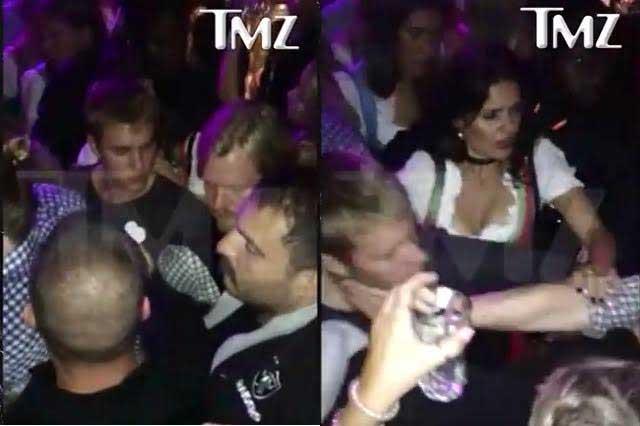 Dan puñetazo a Justin Bieber en centro nocturno de Alemania