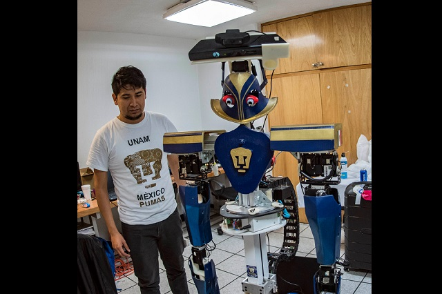 Justina, la robotina mexicana, viaja a España a IROS 2018