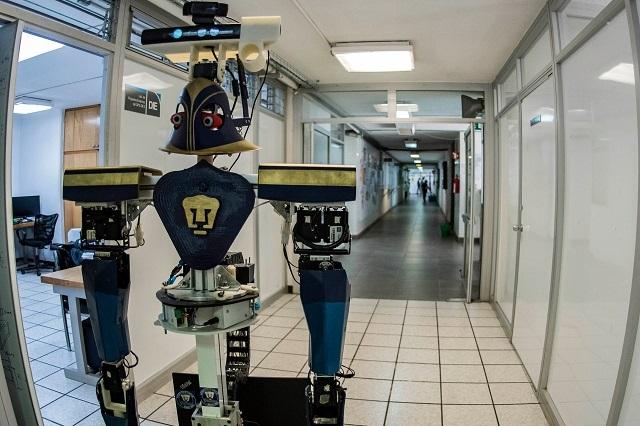 Justina, la robot mexicana conquista Iros 2018
