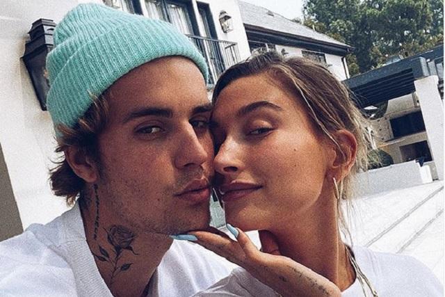 Justin Bieber y Hailey Baldwin celebran aniversario