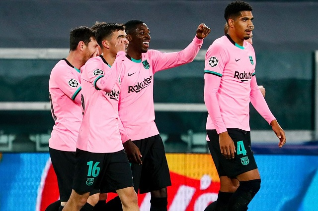 Sin mucho esfuerzo, Barcelona gana 2-0 ante la Juventus
