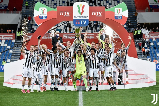 Juventus rescata su temporada con la Copa italiana