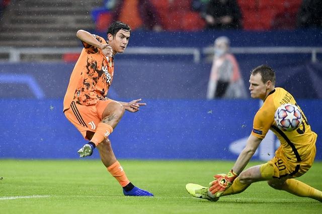 Juventus recompone el camino en Champions: golea 1-4 a Ferencvaros