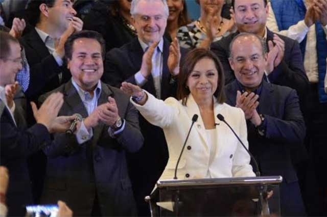 Josefina Vázquez Mota denuncia que es víctima de una guerra sucia