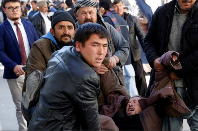 Mueren 40 personas por atentado en Kabul