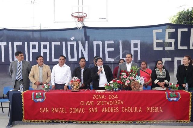 Aumentan salario a policías de San Andrés Cholula