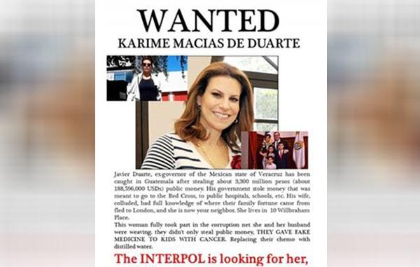 PGR ya solicitó extraditar a Karime Macías, dice Yunes